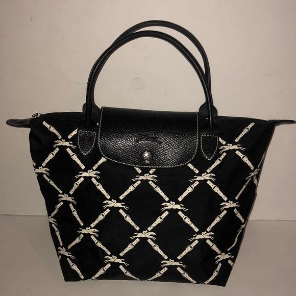 a467df3a26f Longchamp Handbags - Longchamp Le Pliage Small rare print